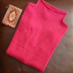 Nicole Miller 2-Ply Mockneck Cashmere Sweater